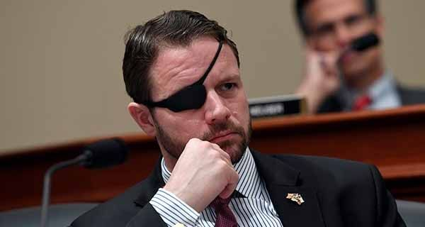 'Bless your heart': Blue-check tells Rep. Dan Crenshaw he can't see the truth, and it isn't because of his eyes