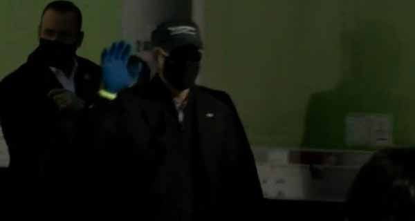 Body double? Joe Biden arrives to volunteer at food bank wearing a mask, protective gloves, and sunglasses